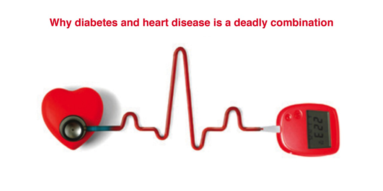 Why diabetes and heart disease is a deadly combination