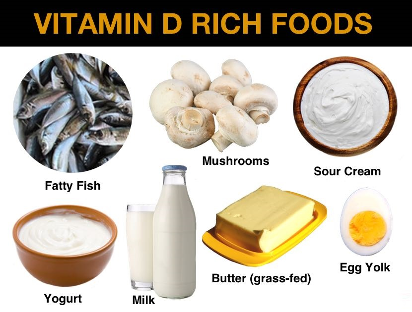 7 Food Options that are Rich in Vitamin D