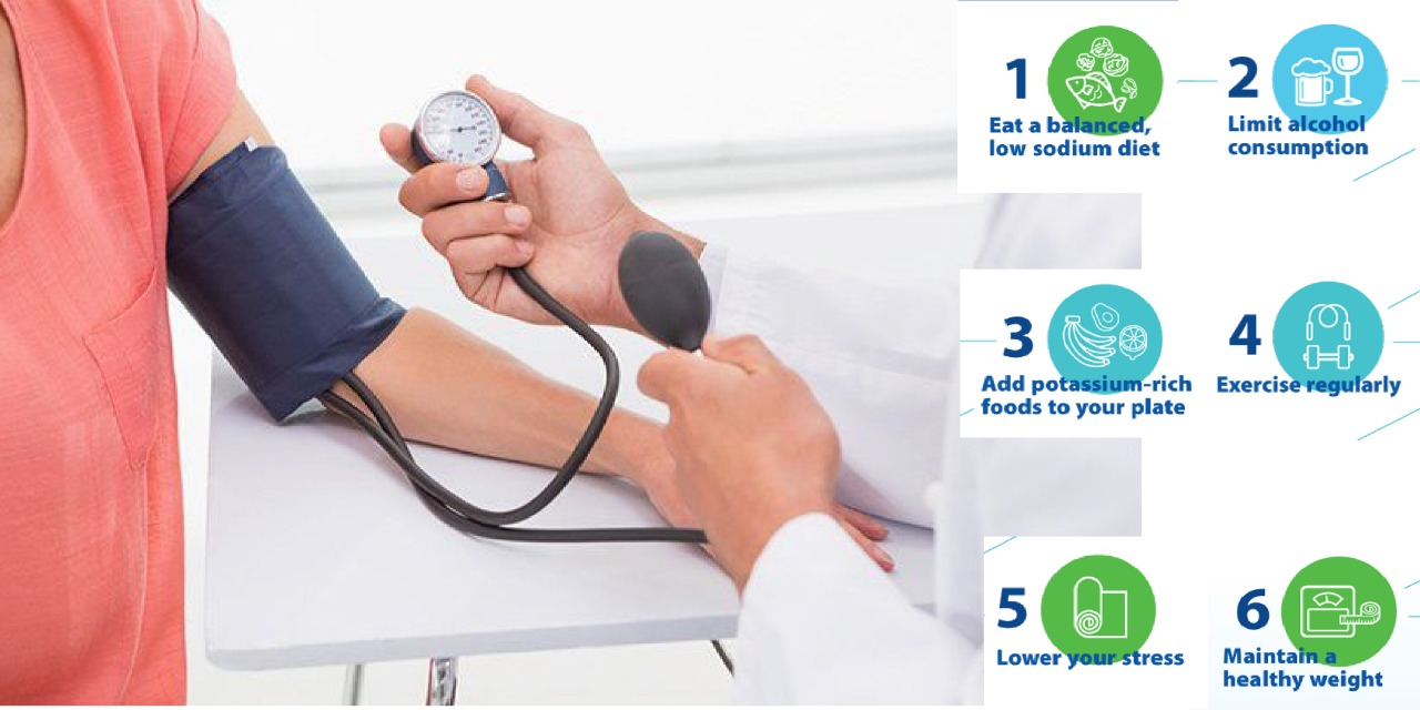 6 Effective Ways To Control Blood Pressure